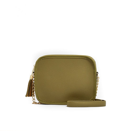 WHOLESALE Sightseer Solid Box w/Tassel ~Chive Green