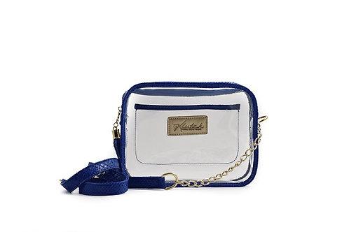 'K'lear Box with Tassel Stadium Klutch ~ True Blue