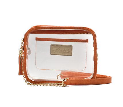 'K'lear Box with Tassel Stadium Klutch ~ Orange