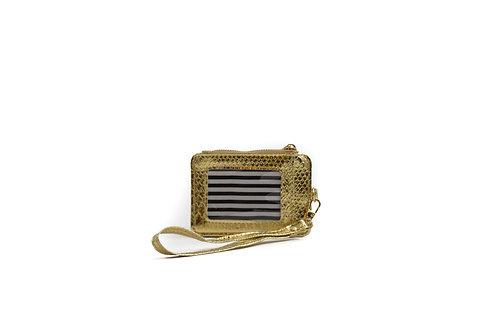 'K'oin Wristlet Wallet ~ Gold