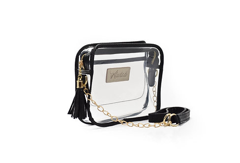 'K'lear Box with Tassel Stadium Klutch ~ Black