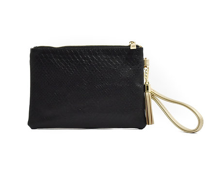 WHOLESALE Tourist Wristlet ~ Black Snake