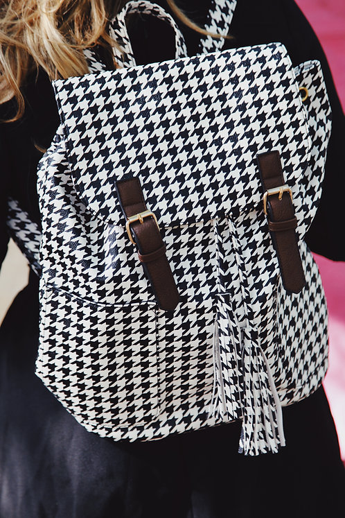The Backpacker ~ Houndstooth