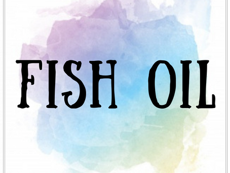 The Benefits of Fish Oil