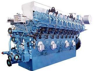 LDH 125 Sulzer 6LDA28-B Dizel Motor