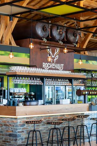 Restaurant de la brasserie de Rochehaut