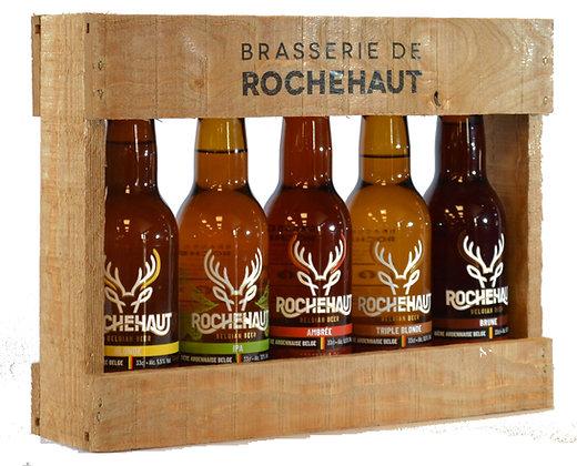 Colis bois 5 bières 33cl