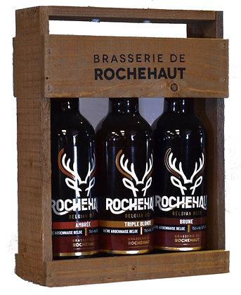 Colis bois  3 bières 75cl