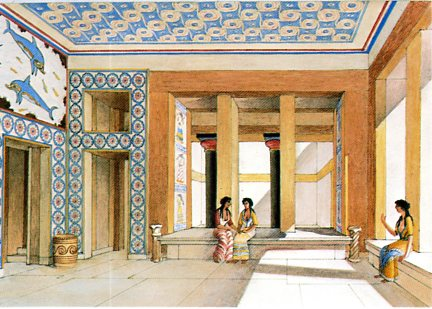 THE PALACE OF KNOSSOS H58 12x17