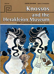 publications archaeological guides Knossos and Heraklion Museum