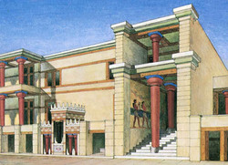 THE PALACE OF KNOSSOS H57 12x17