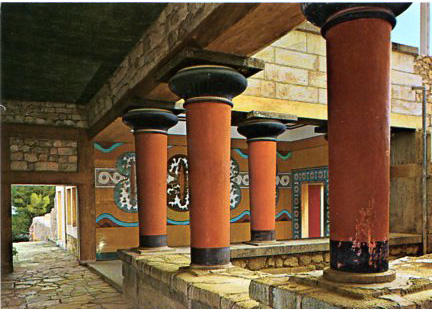 THE PALACE OF KNOSSOS 495 12x17