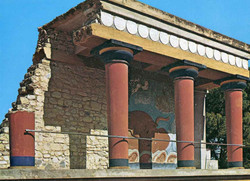 THE PALACE OF KNOSSOS H5 12x17