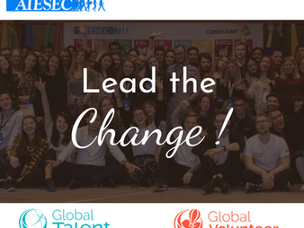 AIESEC in Iași - your opportunity to grow and make an impact!