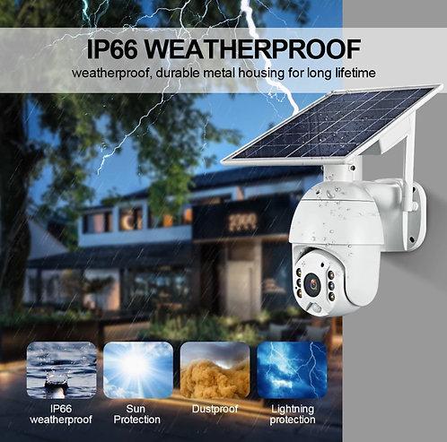 solar 4G 24/7 Colour PTZ camera 1080p
