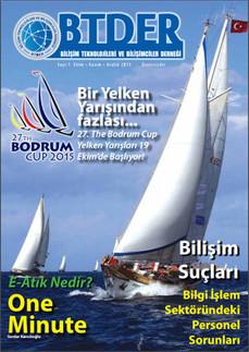 IzmirComp Bilgisayar A.Ş. - Bilişim Teknolojileri Derneği BTDER tarafından yayınlanan Dergi'nin