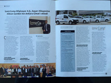 IZMIRCOMP A.S. - Tüm Türkiye'de dağıtımı yapılan Turizm & Yatırım Dergisi Mayıs 2016 sayısı