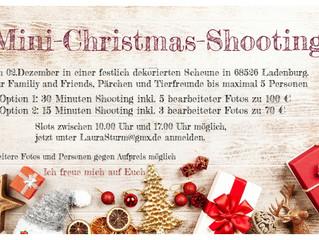 Weihnachts-Mini-Shooting am 02.Dezember in Ladenburg