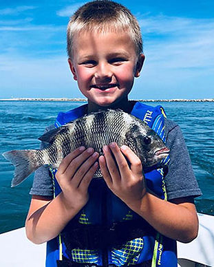 Outer Banks Inshore Fishing Charters - Half Day