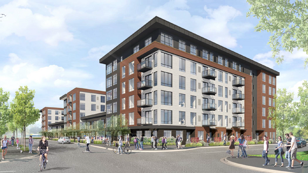 Another apartment building nears starting line in Minneapolis' Prospect Park