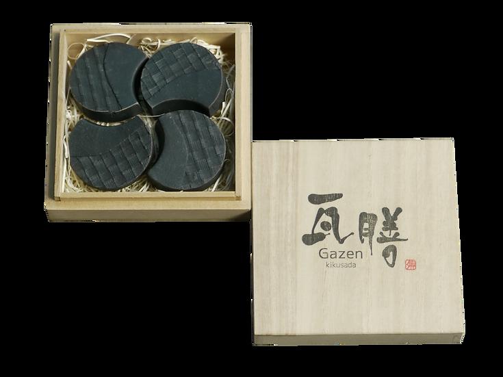箸置き(桐箱4枚入り)