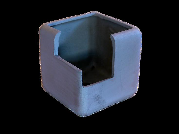 瓦鉢(キューブ・切込みタイプ)