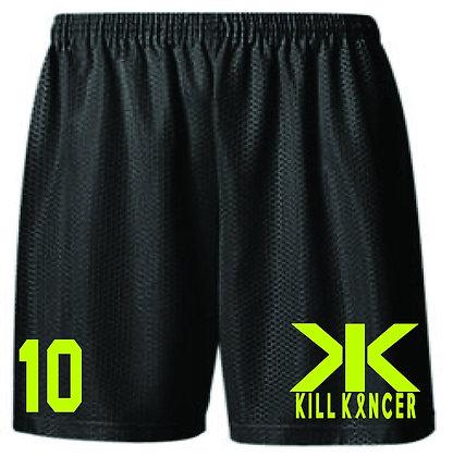 Men's TTG Kill Every Kancer Black Shorts