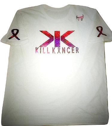 Unisex White/Pink Holographic Kill Breast Kancer Premium Jersey