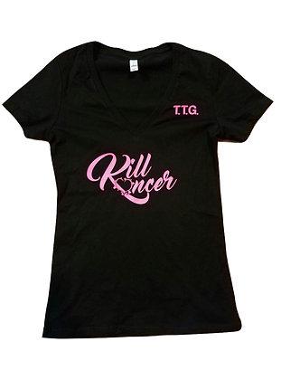 Women's Kill Breast Kancer Premium V-Neck