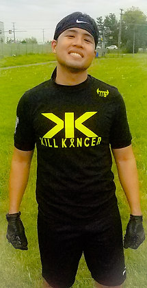 Unisex Black Kill Every Kancer Premium Jersey 2.0