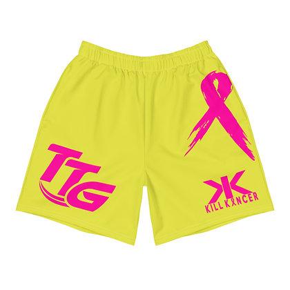 Kill Breast Kancer Neon Yellow/Pink Premier Shorts