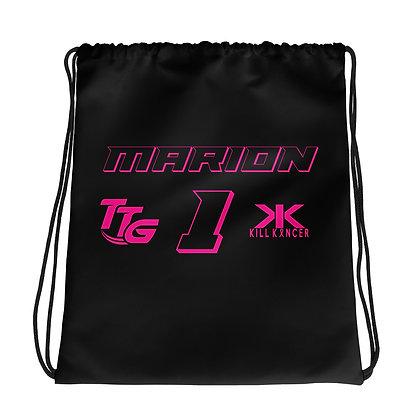Kill Breast Black/Pink Drawstring Cleat Bag