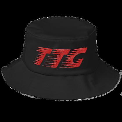 Black/Red TTG Speed Flexfit Bucket Hat