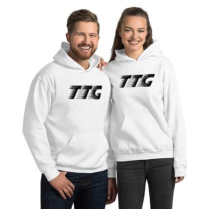 Unisex TTG Speed White/Black Hoodie