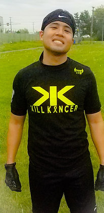 Unisex Black Kill Every Kancer Cotton Jersey Tee 2.0
