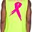 Thumbnail:  Kill Breast Kancer Neon Yellow/Pink Premium Muscle Tank Jersey