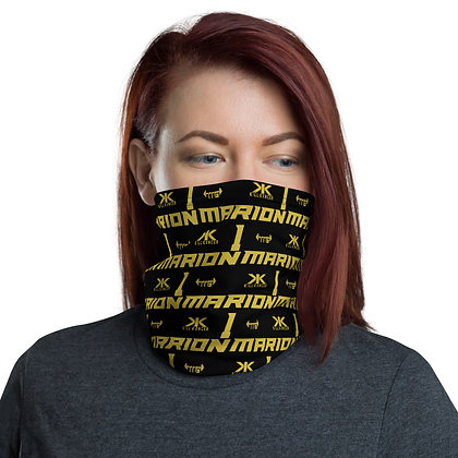 Unisex Kill Childhood Kancer Black/Old Gold Custom All-Over Team Neck Gaiter