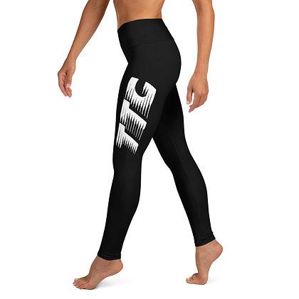 Women's Black/White TTG Training Day Leggings