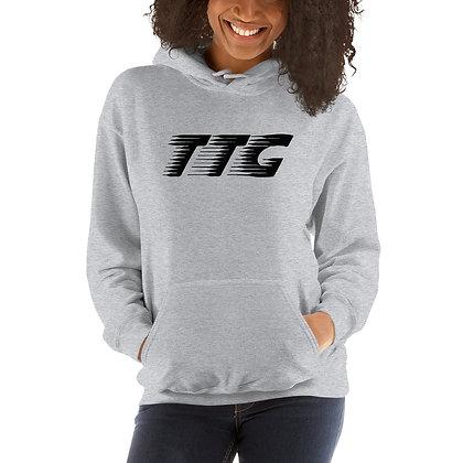 Unisex TTG Speed Grey/Black Hoodie