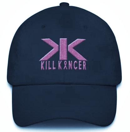 Kill Breast Black/Flamingo Pink Kancer Dad Hat 2.0