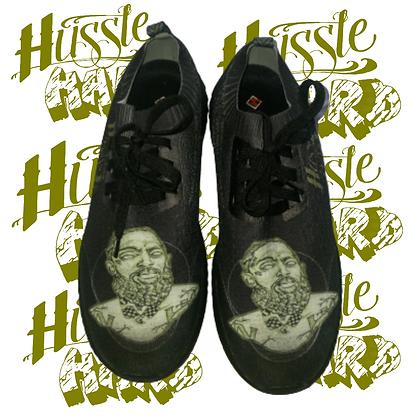Hussle Hard Black/Olive Shoes