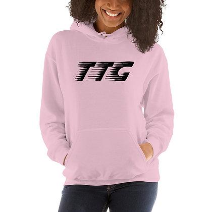 Unisex TTG Speed Pink/Black Hoodie