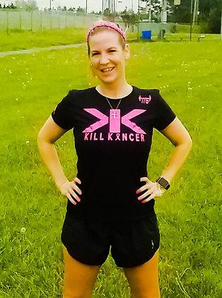 Unisex Black Kill Breast Kancer Premium Jersey 2.0