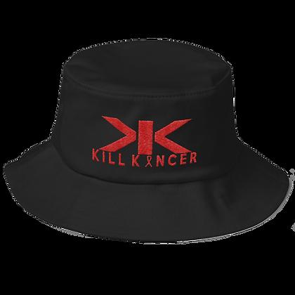 Black/Red Kill Blood Kancer Flexfit Bucket Hat