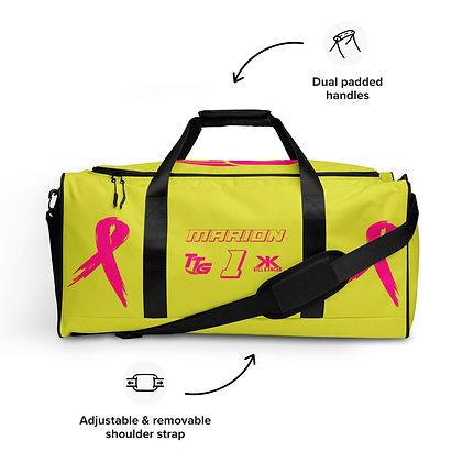 Kill Breast Kancer Neon Yellow/Pink Custom Duffle Bag