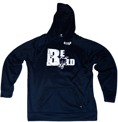 Men's Black/White Be Bold Premium Hoodie