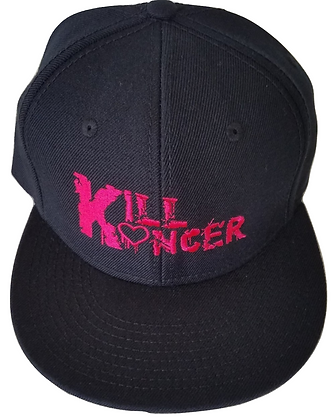 Black/Pink Kill Breast Kancer Snapback