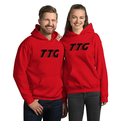 Unisex TTG Speed Red/Black Hoodie