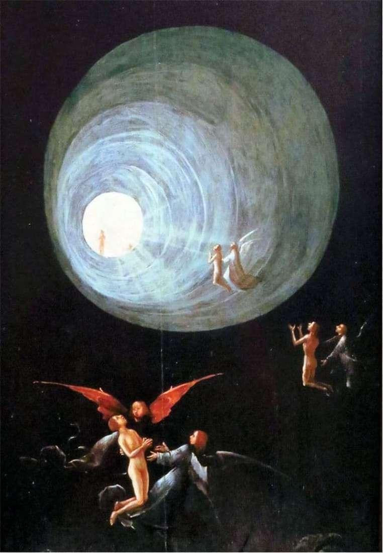 Detail from Heironymus Bosch's depiction of the Ascension