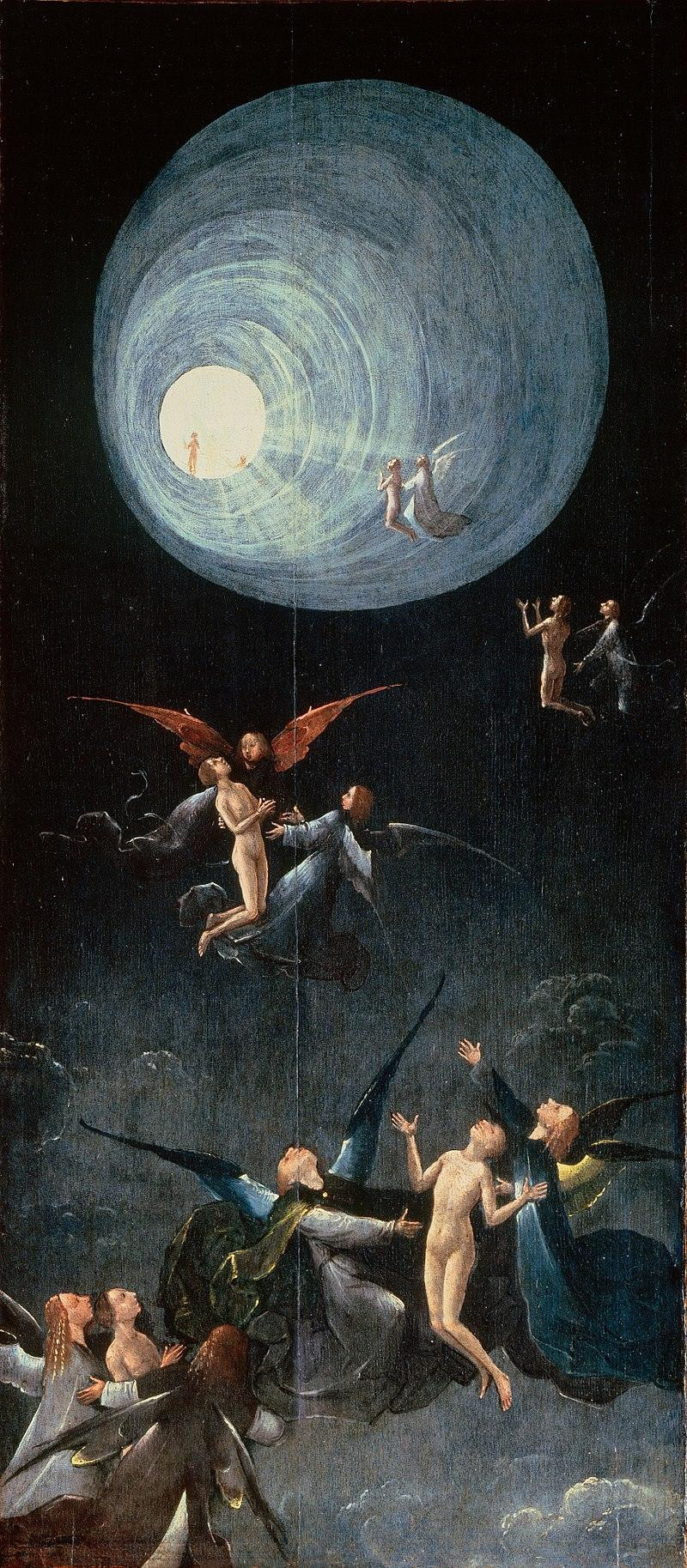 Heironymus Bosch's depiction of the Ascension